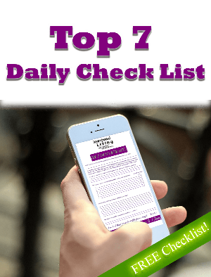 Top 7 Daily Check List